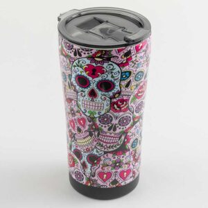 Pink Sugar Skulls Mugs