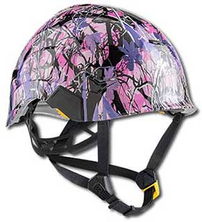 Hydro Dipped Safety Helmets | Creative Solutions for Customizing Personal Safety Gear for the Wind Power & Construction Industry.