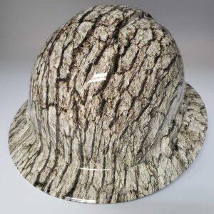 True Timber Camo with Bark | Valhalla Construction Helmet | TV-BRK-003 | Valhalla Custom Gear | Safety Helmet