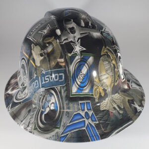 Proud to Serve l Custom hydro dipped hard hats | Construction Helmet | Safety Helmet | Safety Hard Hats | Construction Helmet | Safety Helmet