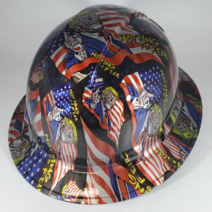 Nothing to Fear l Custom hydro dipped hard hats | Construction Helmet | Safety Helmet | Safety Hard Hats | Construction Helmet | Safety Helmet