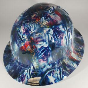 Uncle Sammy l Custom hydro dipped hard hats | Construction Helmet | Safety Helmet | Safety Hard Hats | Construction Helmet | Safety Helmet