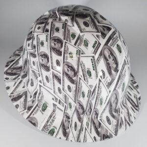 Jumbo $100 Bills | Money, Money, Money | Construction Helmet | Safety Helmet