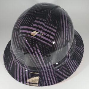 Purple Flags | Construction Helmet | Safety Helmet