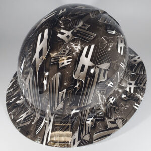 American Punisher Lightning Construction Helmet | Construction Helmet | Safety Helmet