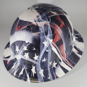 Faded Glory in Red White and Blue | Construction Helmet | Safety Helmet